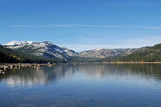 Donner Lake Summer Photo of Donner Lake