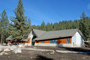new museum at Donner Memorial State Park, CA