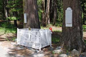 Lone Grave, Highway 20, Nevada County, CA