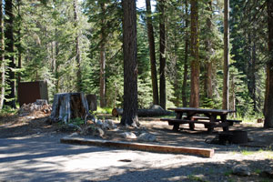 findley Campground, Jackson Meadows Reservoir, CA