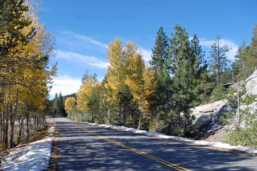 Old Highway 40 over Donner Summit