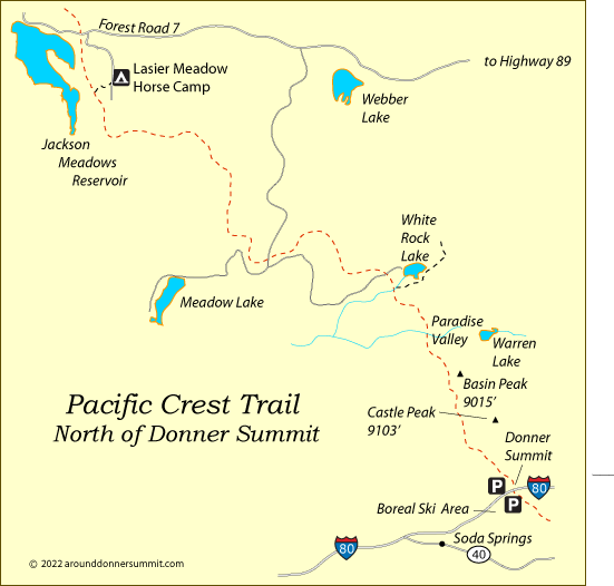 Backpacking Around Donner Summit